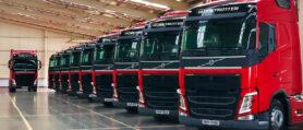 Volvo'dan Nalçacılar Nakliyat'a 15 Adet Volvo FH500 teslim edildi