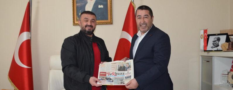 Kadir Sayın'dan Turkuaz Gazetesi'ne Hayırlı Olsun Ziyareti