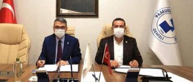 Pamukkale Üniversitesi Sanayi İş Birliği Protokolü İmzaladı