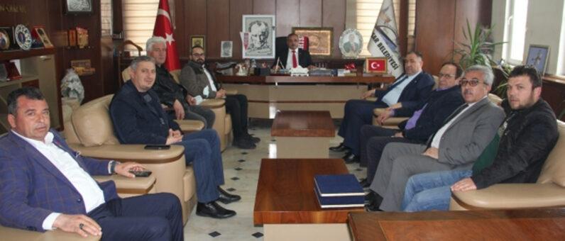 İscehisar Belediye Başkanı Ahmet ŞAHİN'e Nezaket Ziyareti