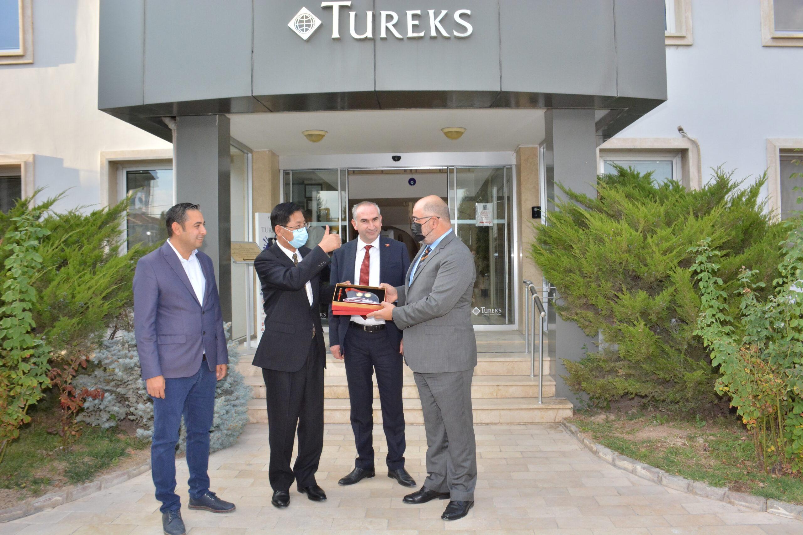 Tureks A.Ş. ÇİN Temsilcilerini Ağırladı